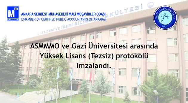 Gazi Üniversitesi Yüksek Lisans