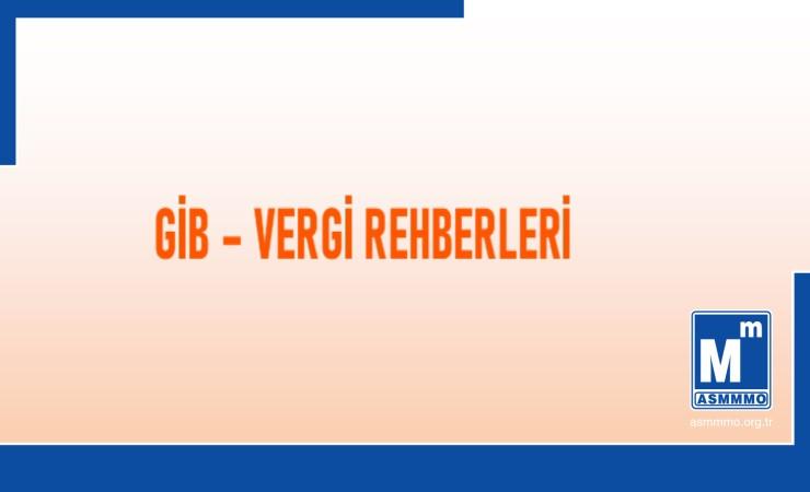 GİB - Vergi Rehberleri
