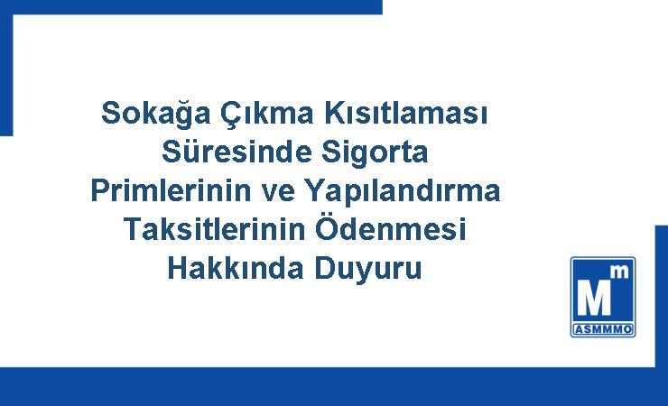 SGK Duyurusu
