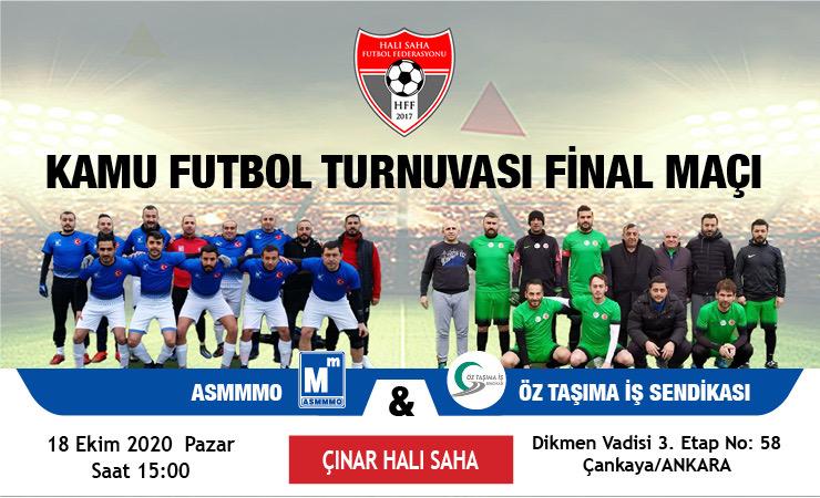 Kamu Futbol Turnuvası Final Maçı