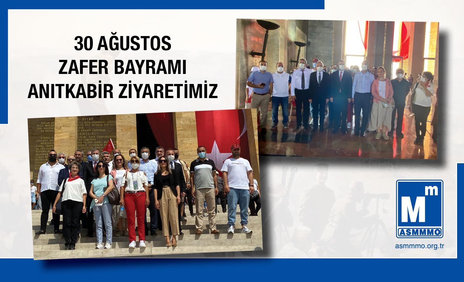30 Ağustos Zafer Bayramı Anıtkabir Ziyaretimiz