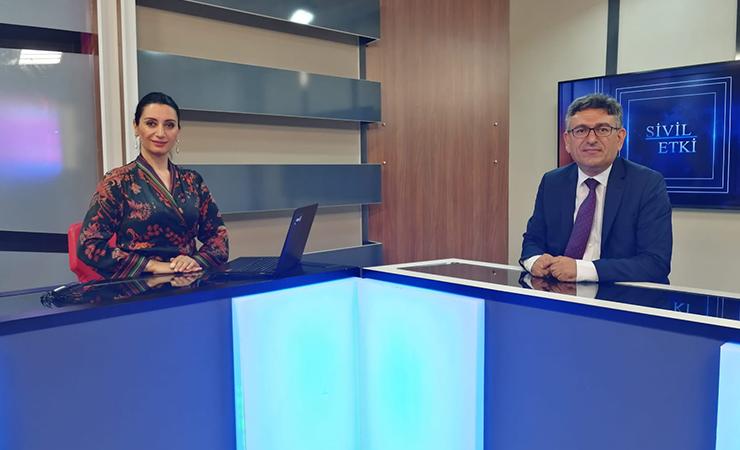 Oda Başkanımız Ali Şahin Kanal 5 TV'de Sivil Etki Programında Elif Ufluoğlu'nun Konuğu Oldu.