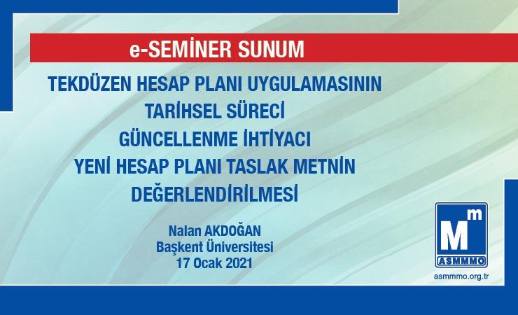 Prof. Dr. Nalan AKDOĞAN e-Seminer Sunumu