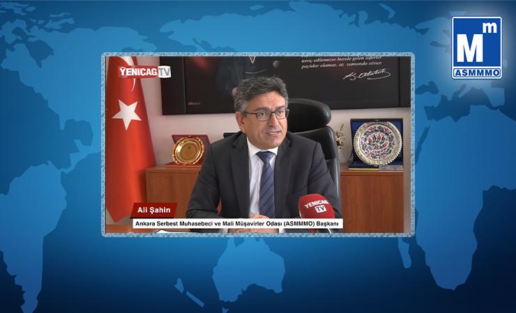 Başkan Ali ŞAHİN'in Yeni Çağ TV Röportajı